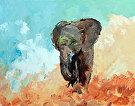 Little-Makena-30x24 by  Portola  Art Gallery Oil ~  x