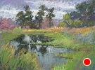 Reflections by Stahl by  Portola  Art Gallery Pastel ~ 12 x 16