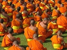 Distracted Monks, Thailand by  Portola  Art Gallery Photography ~ 16 x 20