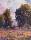 Palo Alto Eucalyptus by  Portola  Art Gallery Oil ~ 9 x 12