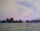 Morning Mist by  Portola  Art Gallery Oil ~ 28 x 22