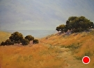 View To The Pacific by  Portola  Art Gallery Oil ~ 30 x 40