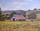 Salinas Valley Farm by  Portola  Art Gallery Oil ~  x