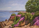 View of Pacific Grove by  Portola  Art Gallery Oil ~  x