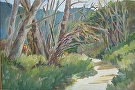Laguna Canyon by  Portola  Art Gallery Oil ~ 16 x 20