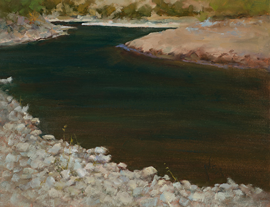 Trout Haven - Oil