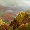 Sun-break in Waimea Canyon