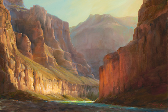 CANYON GLOW - Oil