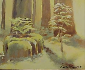 "Morning Light by Beverly Bird Oil ~ 8"" x 10"""