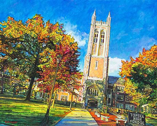 Topeka High is Golden - Acrylic