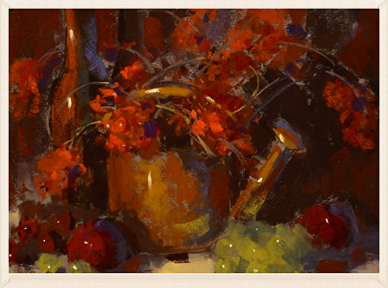 Fall Berries & Fruit - Pastel