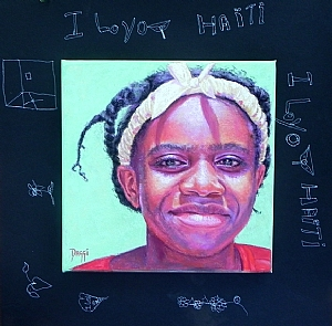 Mitchie-Love by Daggi Wallace Pastel ~ 16 x 16