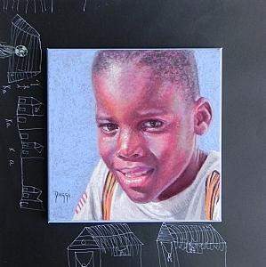 David by Daggi Wallace Pastel ~ 16 x 16