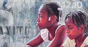 Broken Promises by Daggi Wallace Pastel ~ 12 x 22