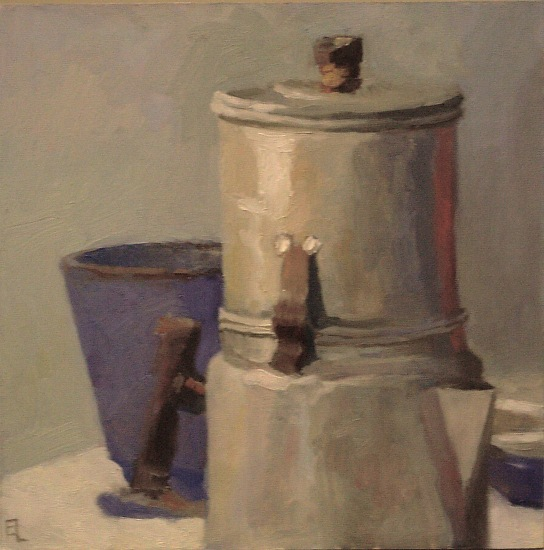 Coffeepot With Cup - Oil