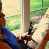 Artist Linda Carr