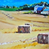 Golden Field of Haystacks