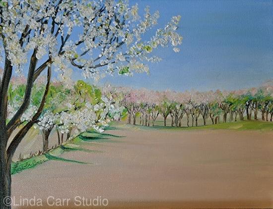 Spring Pastels - Oil