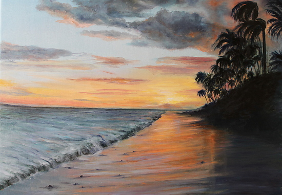 Florida Paradise - Oil