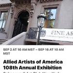 Joye DeGoede - Allied Artists of America 108th. Annual Exhibit