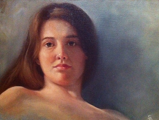 Leah's Repose - Oil