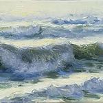 Robert Simone - Painting The Satly Shoreline