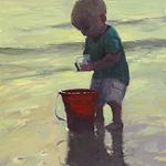Robert Simone - Painting Figures On The Beach (Virtual Class)