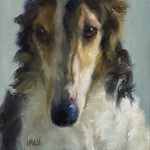 Johanne Mangi - Painting the Dog as Fine Art
