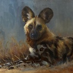 Johanne Mangi - Animal Painting - Wild and Domesticated
