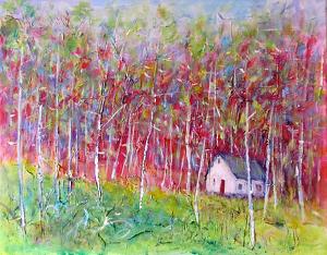 A Familiar Place by Kate Dardine Acrylic ~ 16 x 20