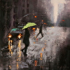 Rain Day Walkers 1