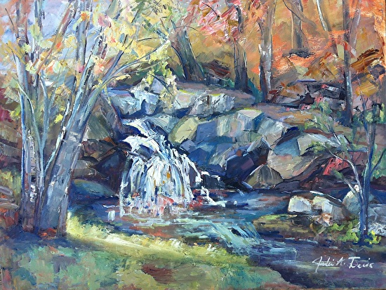 Sheep's Head Falls - Oil