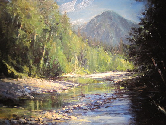 In the Cascades - Oil