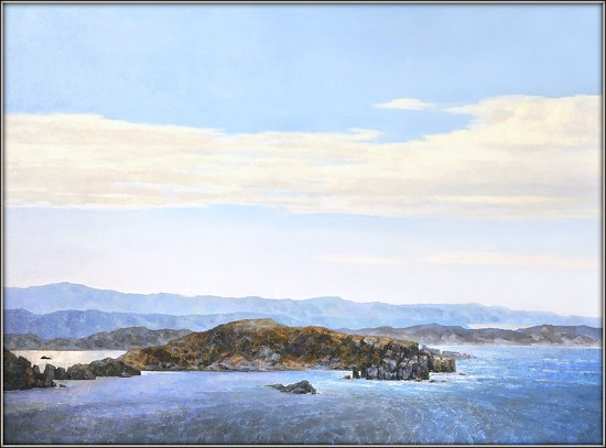"Newfoundland. The Notre Dame Bay fjords by Aleksandr Fayvisovich  ~ 30"" x 40"""