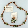 Necklace and Earring Set - Rain Forrest & Copper