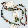 Fancy Jasper & Fluorite Necklace, Earring & Bracelet Set