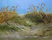 "Going Coastal #6 by Karen Burnette Garner Acrylic ~ 20"" x 24"""