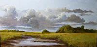 Passing Storm by Karen Burnette Garner Acrylic ~ 24 x 48