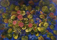 Serenity by Karen Burnette Garner Acrylic ~ 38 x 54