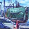 Harbor Scene by James Buncak Oil ~ 11 x 14