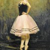 Ballerina by James Buncak Oil ~ 30 x 20