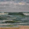 Seascape by James Buncak Oil ~ 7 x 10