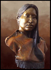 James Ford - Work Detail: Black Buffalo Woman - Crazy Horse's Muse