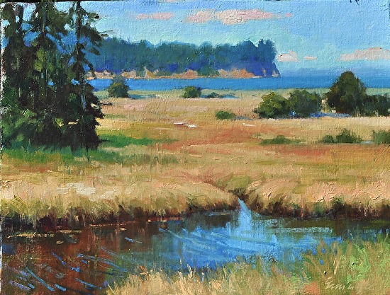 """Salt Creek"" - Oil"