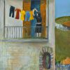 "Greek Family Story ART CARDS 12-Pack $30  ""Life-Lines"" © Constance Vlahoulis"