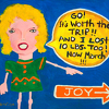 Go Get Your Joy by Constance Vlahoulis Acrylic ~ 11.5 inches x 14 inches