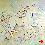 """Wild and Free by Filomena Booth Acrylic ~ 36"""" x 36"""""""
