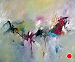 "Arabesque by Filomena Booth Acrylic ~ 30"" x 36"""