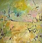 "New Terrain by Filomena Booth Acrylic ~ 24"" x 24"""