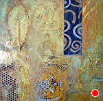 """Passages II by Filomena Booth Mixed ~ 12"""" x 12"""""""